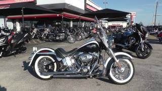 7. 043279 - 2007 Harley Davidson Softail Deluxe   FLSTN - Used motorcycles for sale