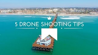DJI Phantom 4: http://amzn.to/28WLZiz You can capture amazing aerial drone photo and video shots with the DJI Phantom 4, and here are 5 Tips and Tricks on ...