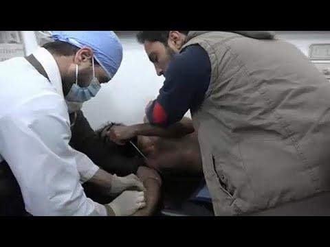 Συρία: Καταγγελίες για επίθεση με χημικά