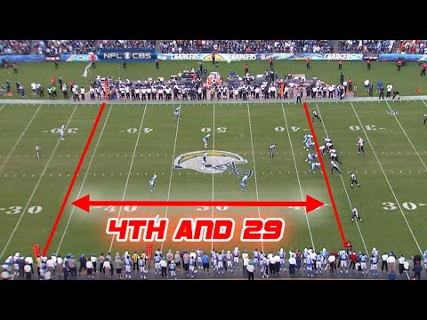 Longest 4th Down Conversions in NFL History (17+ yards)