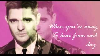 TO BE LOVED ~ MICHAEL BUBLE vs JACKIE WILSON
