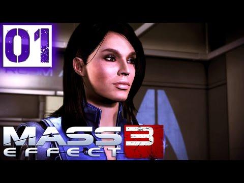 Mass Effect 3 Прохождение Часть 1 (Солдат, Герой, Безумие) Пролог: Земля