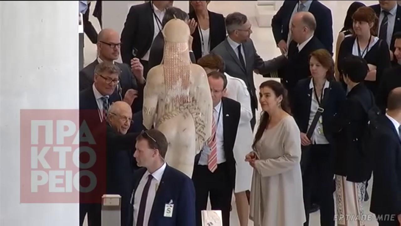 Επίσκεψη Steinmeier στο μουσείο της Ακρόπολης