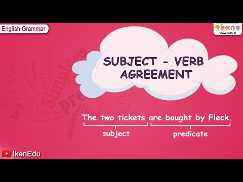 Subject (grammar) - Find more than 1500+ education videos available at http://www.youtube.com/user/IkenEdu English is the International language hence everyone needs to know bet...