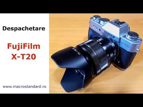 Despachetare Aparat Foto Mirrorless FujiFilm X-T20 cu obiectiv FUJINON XF 18-55mm F2.8-4 R LM OIS