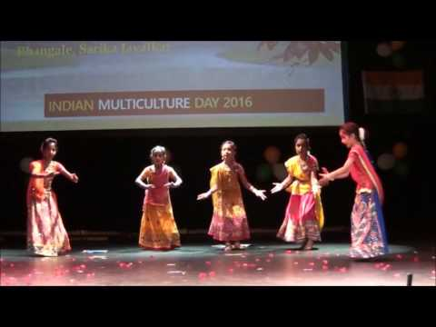 Zankar Dance Academy , Indian Multicultural Day 2016  performance in Stavanger Norway