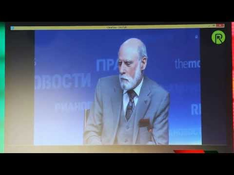 Винт Серф. Интернет: настоящие возможности и будущие технологии (видео)