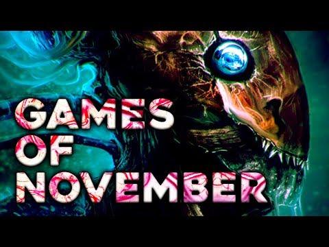 Top 10 NEW Games Of November 2017