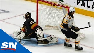 DeBrusk & Karlsson Show Off Their Moves In Bruins Vs. Golden Knights Shootout by Sportsnet Canada