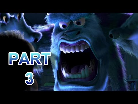 Monsters Inc. MOVIE MISTAKES, And Fails Part 3