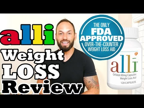 ALLI Orlistat Weight Loss Pill   Review ( Weight Loss Supplement That Works)