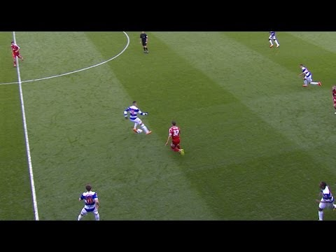 Junior - Watch Ravel Morrison's outrageous flick to team-mate Junior Hoilett! SUBSCRIBE for more exclusive QPR video content. Remember, it's FREE: http://bit.ly/1akJb...