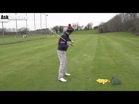 Golf Lesson Left Foot Control
