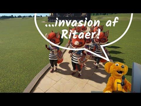 Spil med Hugo: Planet Coaster - part 1