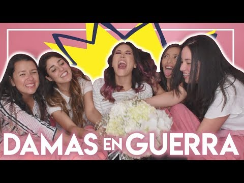 Guerra de damas de honor - MAÑANA ME CASO I Kika Nieto (видео)