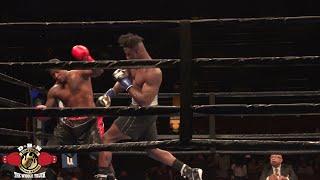 Vicious KO by Undefeated Nigerian Heavyweight Efe Ajabada