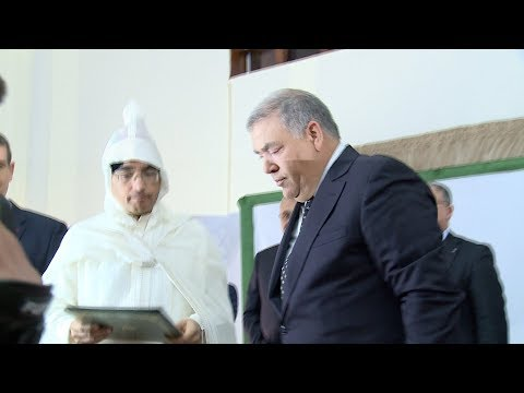 تنصيب السيد محمد يعقوبي واليا على جهة الرباط سلا القنيطرة وعاملا على عمالة الرباط