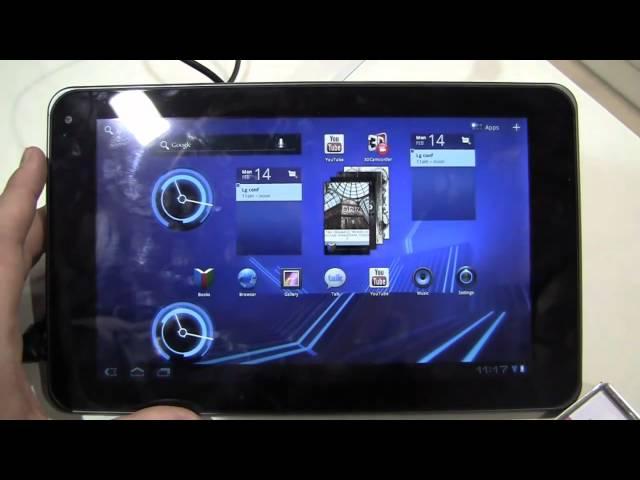 LG Optimus Pad Hands-On