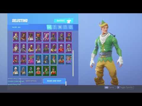 Codename elf fortnite account for sale