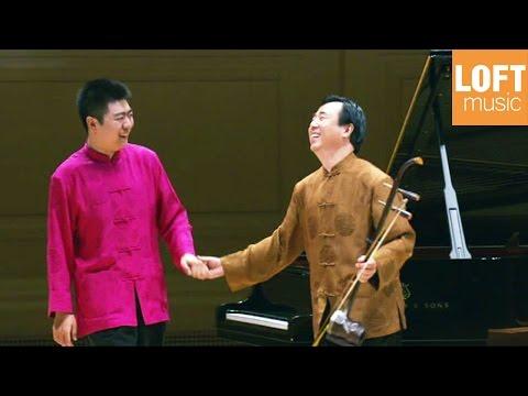 Lang Lang and his father (Lang Guo-ren) at Carnegie Hall