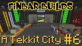 Lets Build A Minecraft Tekkit City - Part 6 - Epic Sliding Doors