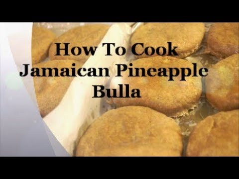 HOW TO MAKE REAL JAMAICAN AUTHENTIC PINEAPPLE BULLA CAKE RECIPE RIGHT THE FIRST TIME 2017