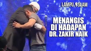 Video PEMUDA MURTAD Masuk Islam Kembali dan MENANGIS di Hadapan Dr. Zakir Naik MP3, 3GP, MP4, WEBM, AVI, FLV Oktober 2017