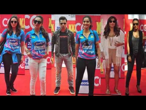 Cricket League Red Carpet│Riteish Deshmukh, Arbaaz Khan, Varun Dhawan