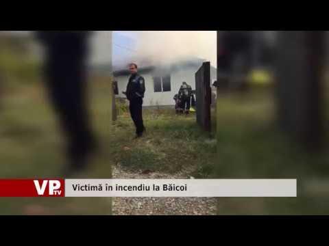 Incendiu cu victime în Băicoi