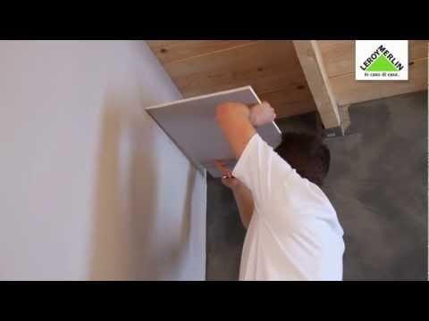 Come posare un controsoffitto in cartongesso su una struttura di legno - Leroy Merlin
