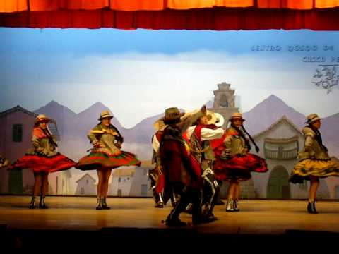 Inca Traditional Dance - Cuzco Cultural Centre, Peru