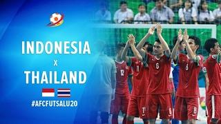 Video Indonesia (2) VS (4) Thailand - AFC U20 Futsal Championship 2017 MP3, 3GP, MP4, WEBM, AVI, FLV Juli 2017