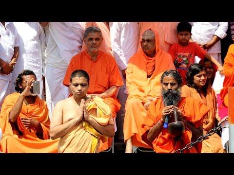 Sanyas Diksha Mahotsav, Rishigram-Acharya Balkrishna-VIP Ghat, Haridwar-25-March