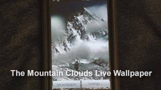 Mountain Live Wallpaper YouTube video