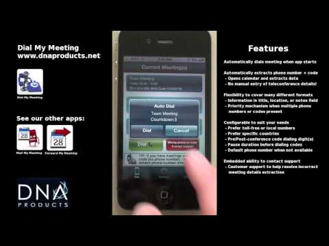 Video of Dial My Meeting