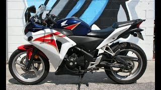 9. 2012 Honda CBR250R ... Great Starter Sport Bike!