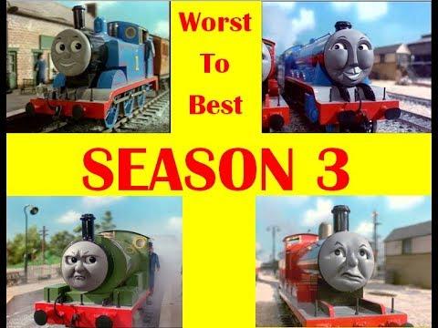 Thomas & Friends: Season 3 Episodes Worst to Best
