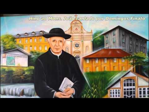 Hino ao Monsenhor  João cantado por Domingos Finato - 06-01-16