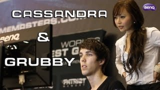 Grubby & Cassandra in Singapore