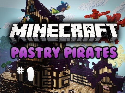 Minecraft: Pastry Pirates w/ Cupquake & Chimney Ep 1