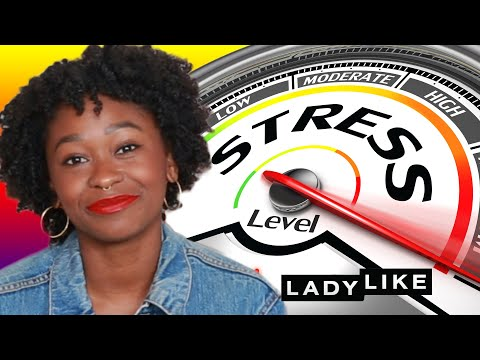We Found Out How Stressed We Are By Our Mouths • Ladylike (видео)