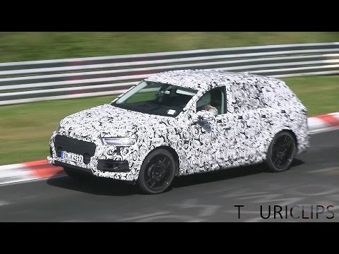Nürburgring - Watch what is probably the new 2016 Audi SQ7 undergoing testing on the Nürburgring Nordschleife. The SQ7 was recently confirmed for 2016 by Audi's board member for technical development....