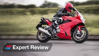 10. 2015 Honda VFR800F bike review