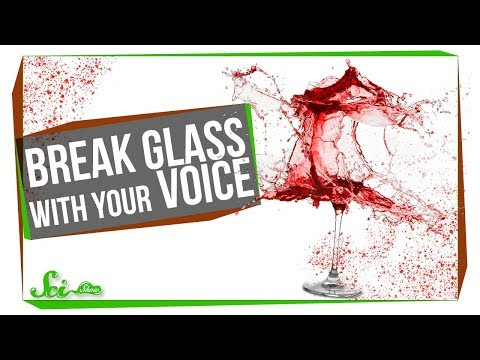 Can You Break Glass with Your Voice? (видео)