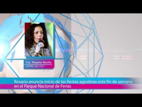 Rosario anuncia inicio de las fiestas agostinas este fin de semana en el Parque Nacional de Ferias