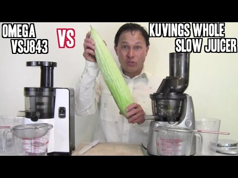 Omega VSJ843 vs Kuvings Whole Slow Juicer Comparison Review