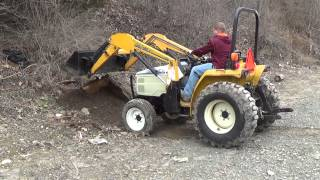 9. Cub Cadet 7260 4wd with loader