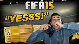 600K FIFA 15 PACK OPENING - YESSS! | FIFA 15 ULTIMATE TEAM PACK OPENING