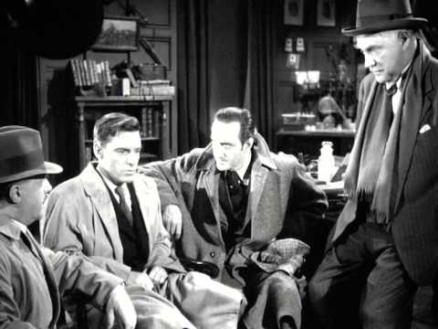 Sherlock Holmes THE WOMAN IN GREEN (1945) BASIL RATHBONE