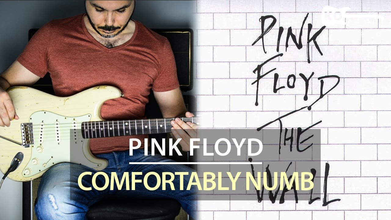 Pink Floyd – Comfortably Numb – Electric Guitar Cover by Kfir Ochaion